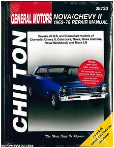 Chilton Chevrolet Nova Chevy Ii 1962