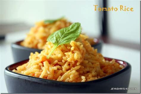 tomato rice recipe jeyashri - Jeyashris Kitchen