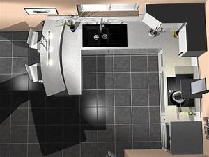 Plan De Cuisine 3d : devis et cuisine en 3d ~ Nature-et-papiers.com Idées de Décoration