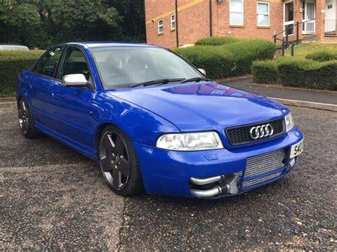 audi   twin turbo nogaro blue modified  high