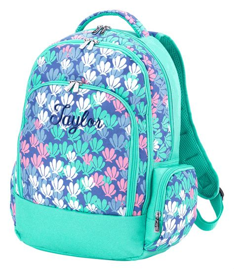 embroidered girls backpack personalized