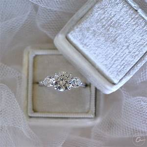 a three stone ajaffe engagement ring to represent your With wedding ring represents