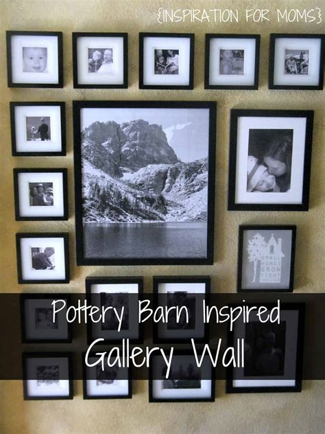 Pottery Barn Inspired Gallery Wall - Inspiration For Moms