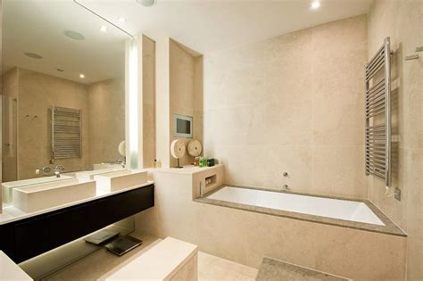 Badezimmer Modern Beige by Modern Beige Bathroom Design Ideas Photos Inspiration
