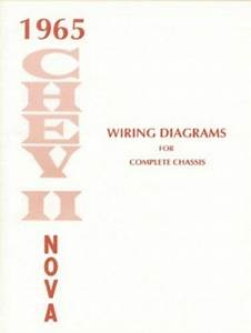 Chevy Ii  Nova 1965 Wiring Diagram 65