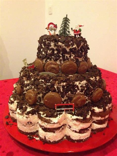 cuisine de noel 2014 gâteau en pièce montée de noël gulcan cuisine