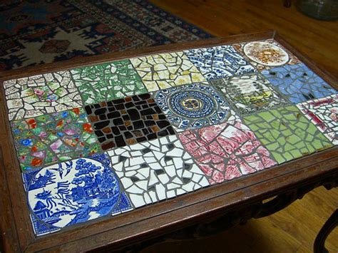 mosaic table top kit mosaic coffee table top flickr photo sharing