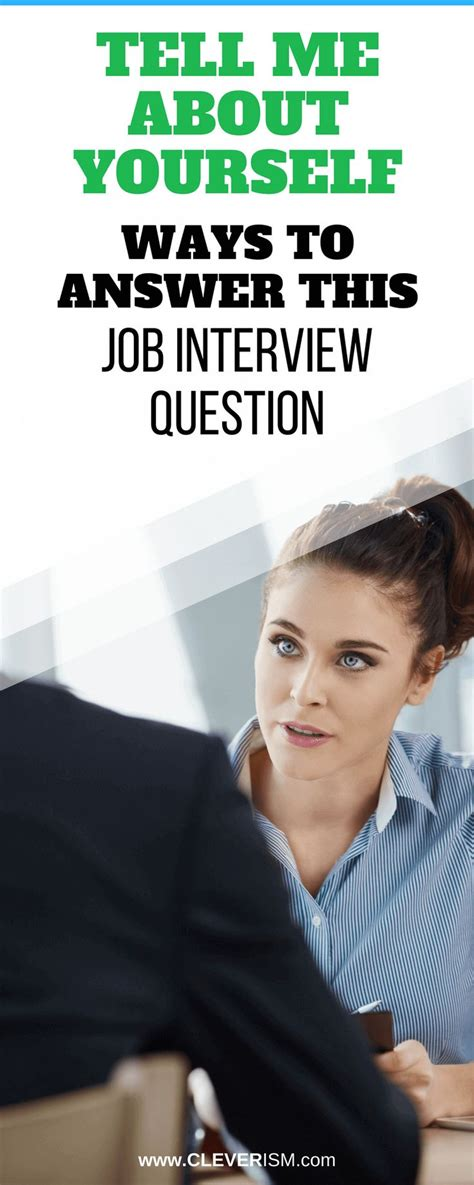 15046 tell me about yourself answer best 25 questions ideas on