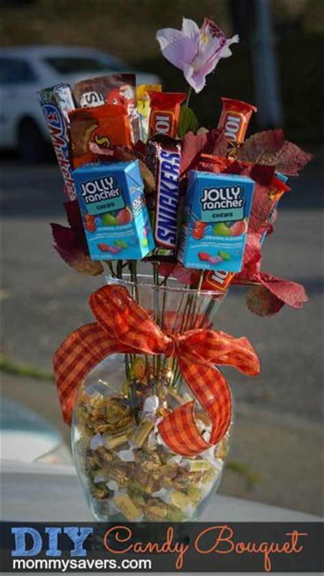 diy candy bouquet perfect  teens  people