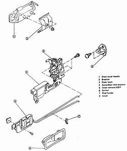 Toyota Door Latch Assembly Diagram