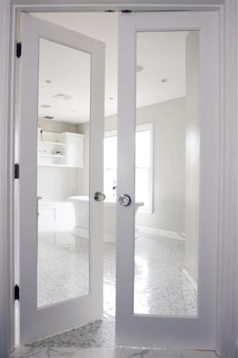 bathroom french doors transitional bathroom rachel