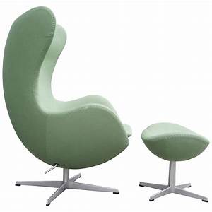 Egg Chair Arne Jacobsen : arne jacobsen egg chair with ottoman at 1stdibs ~ Bigdaddyawards.com Haus und Dekorationen