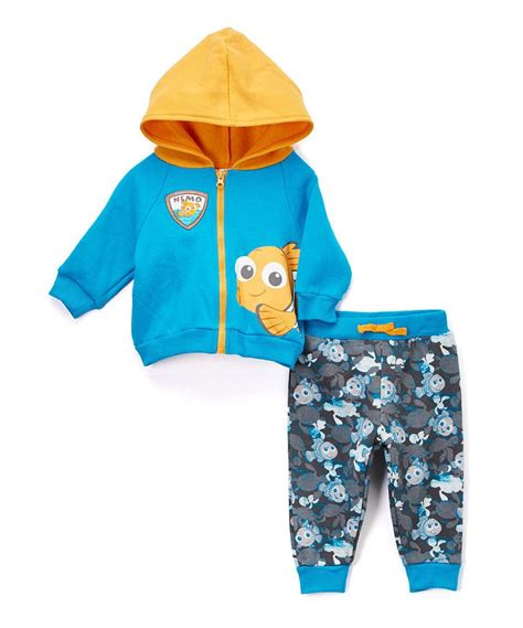 Look at this Blue Finding Nemo Knit Hoodie & Pants ...