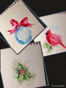 Laurie s Charming Designs Hand painted Watercolor