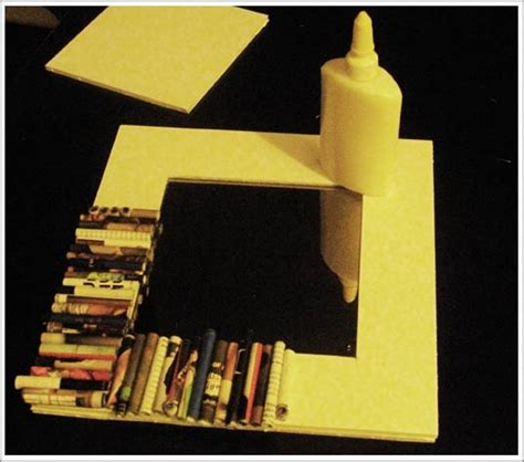 cadre photo en papier objets d 233 co en