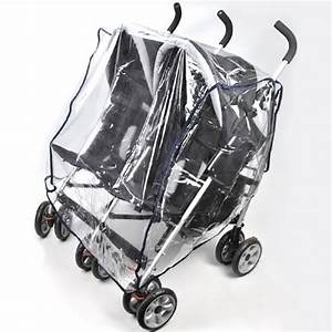 Side By Side Buggy : buggy pushchair stroller double side by side pram clear rain cover ebay ~ Eleganceandgraceweddings.com Haus und Dekorationen