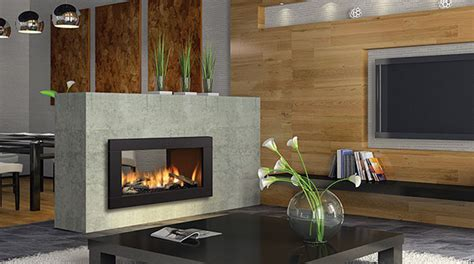 see through gas fireplace gas fireplaces
