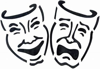 Theatre Acting Masks August Clip Theater Drama