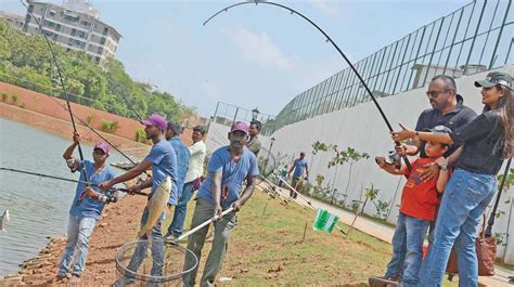 Cost Of Fishing Boat In Chennai by On Day 1 Excited Chennaiites Flock To Eco Park At Chetpet