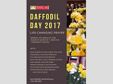 Daffodil Day 2017 Methodist Central Hall, Westminster