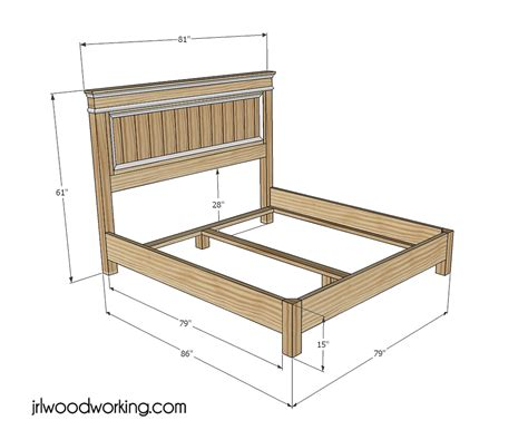 wood king headboard woodworking plans  plans