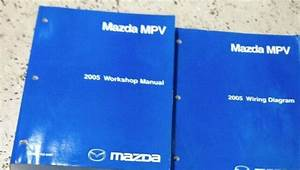 2005 Mazda Mpv Van Service Repair Workshop Shop Manual Set