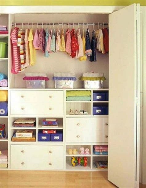 Kid Closet Organizer - 35 practical closet ideas home design and interior