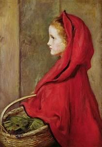 ART BLOG: John Everett Millais : Little Red Riding Hood