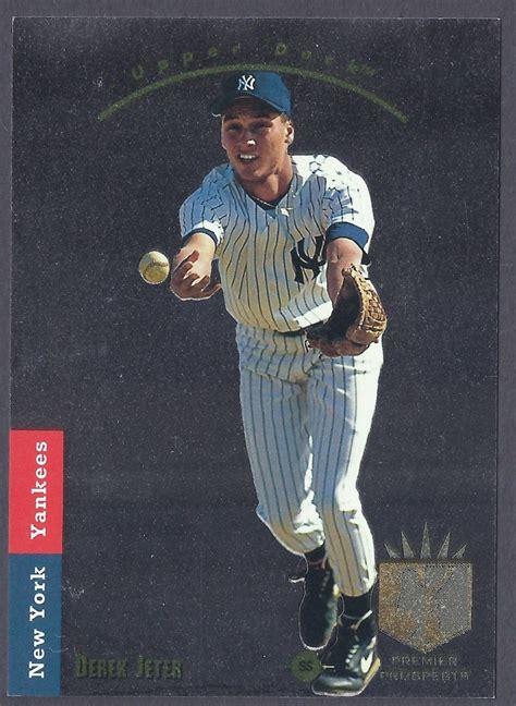 1993 Deck Derek Jeter by 1993 Sp Derek Jeter Rookie Card Yankees