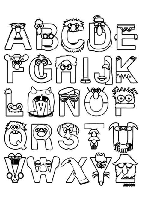 letras para ni241os escuela infantil castillo de blanca abecedarios colorear
