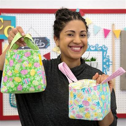 Fabric Easy Basket Easter Baskets Sewing Tutorial