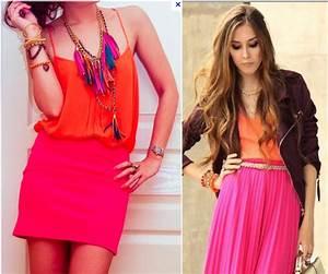 Get Jessed Up: Pink & Orange: Clashing Color-Blocking ...