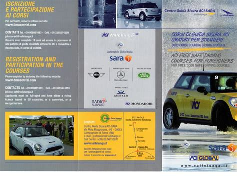 ufficio provinciale aci unit 224 territoriale aci di caserta corsi di guida sicura