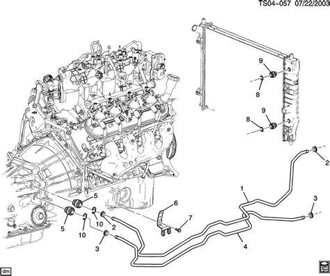 2002 Gmc Envoy Transmission Wiring Diagram by 6 Best Images Of Transmission Cooler Diagram 2002
