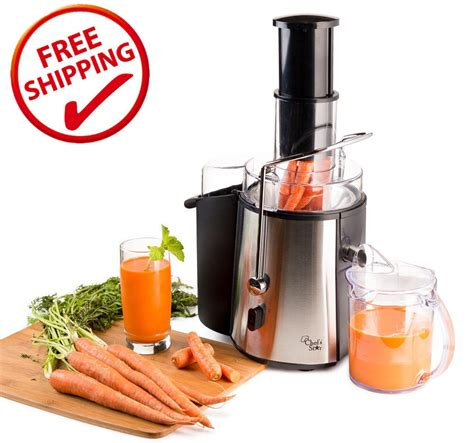 juicer machine juice fruit extractor electric maker carrot apple steel stainless vegetable star mouth wide kitchen vegetables juicers dining amazon