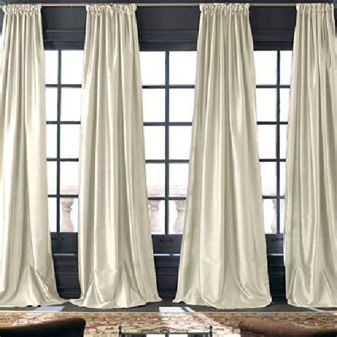 royal velvet grandeur silk rod pocket back tab curtain