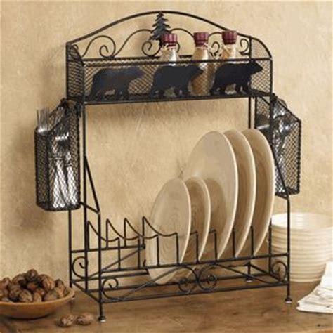Clearance Decor - dinnerware kitchen rack clearance cabin decor