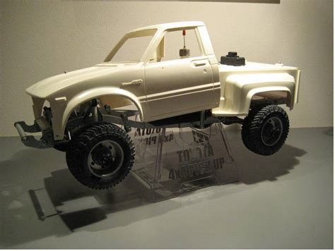 58028 toyota 4x4 up from zidane showroom patience and a lot of tamiya rc radio