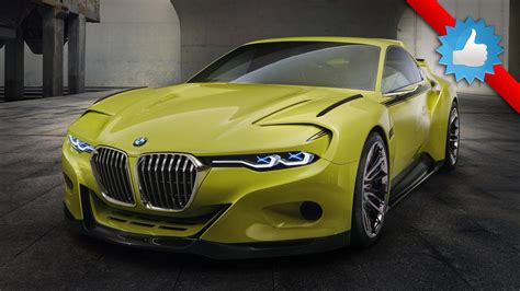 2015 Bmw 3.0 Csl Hommage Concept Car