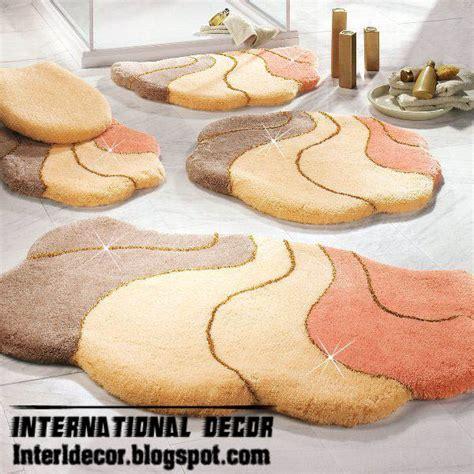 designer bathroom rugs 10 modern bathroom rug sets baths rug sets models colors