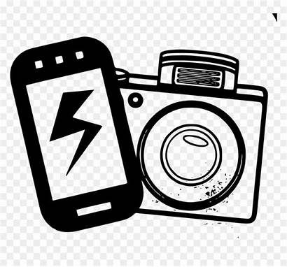 Camera Clipart Cell Phone Vhv Flash