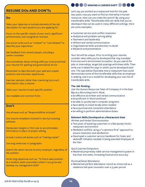 resume verbs teamwork