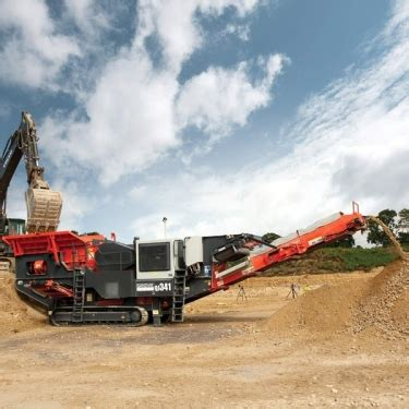 sandvic qj jaw crusher tool  plant hire northern
