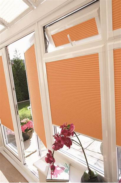 Blinds Pleated Conservatory Perfect Blind Windows Doors