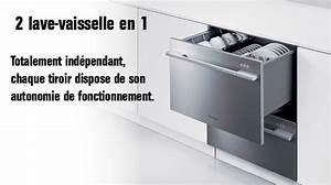 Lave Vaisselle Haut De Gamme : lave vaisselle double dcs dd24d dd24dvt7 a g ~ Premium-room.com Idées de Décoration
