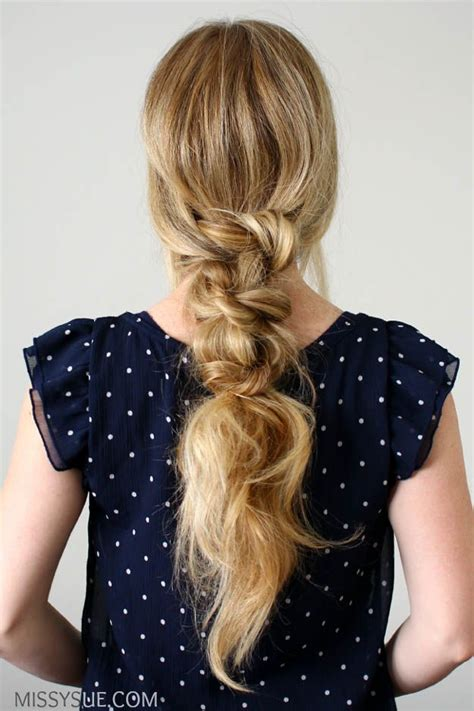 styles you can do hair hairstyles for hair knotted ponytail 20 9247