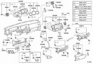 2007 Toyota Tacoma Bracket  Instrument Panel Side  No  2