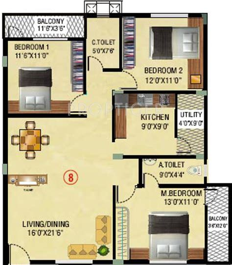 flats for sale in gottigere 1410 sq ft 3 bhk 2t apartment for sale in mbr sapphire