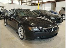 2004 BMW 645CI for sale at Copart Lawrenceburg, KY Lot