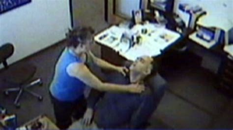 mans heart attack caught  tape video abc news